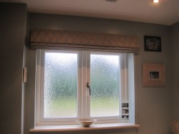 Roman blind bathroom 10