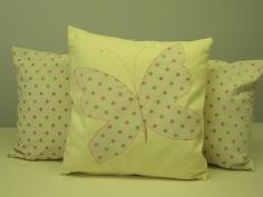 Applique cushions