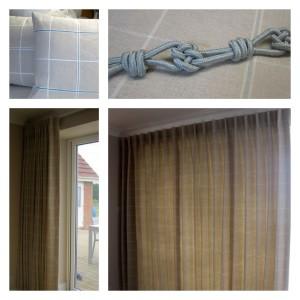Bi-fold curtains