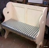 Bench seat cushions