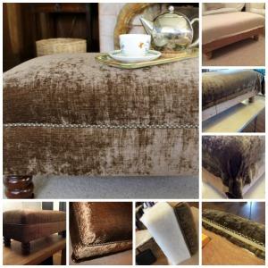 PicMonkey velvet footstool